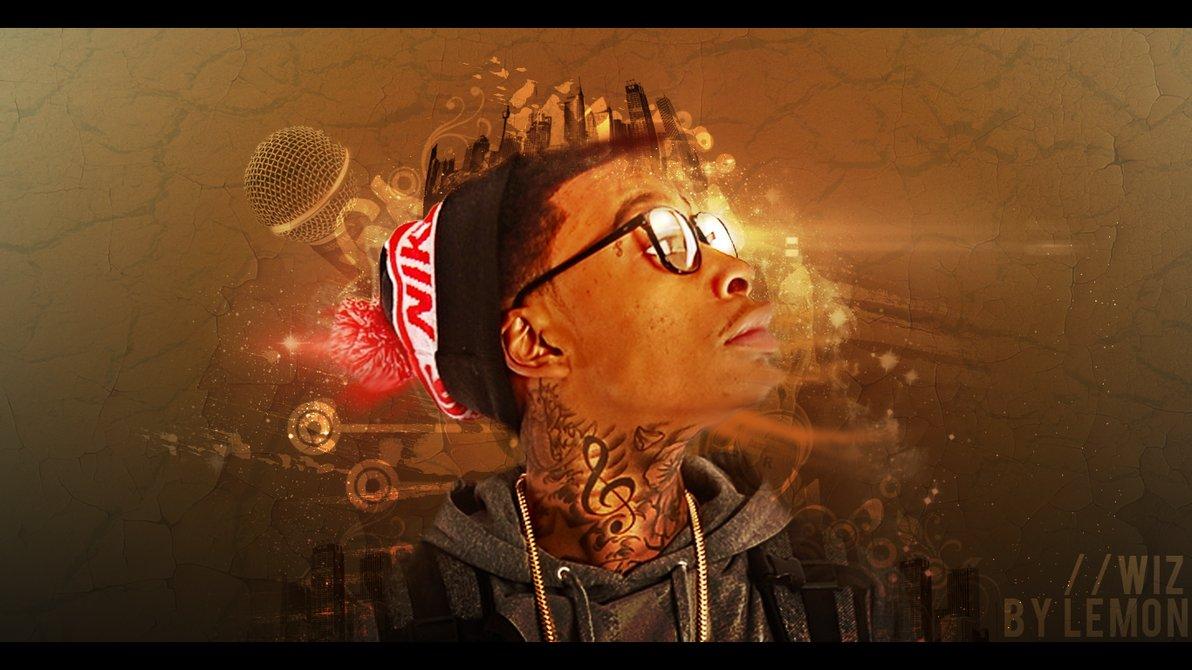 Wiz Khalifa Desktop Wallpaper by ilemonizer 1192x670