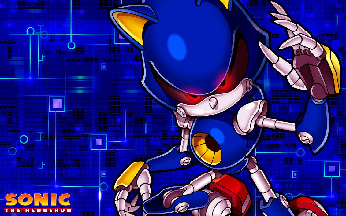 [49+] Metal Sonic Wallpaper on WallpaperSafari