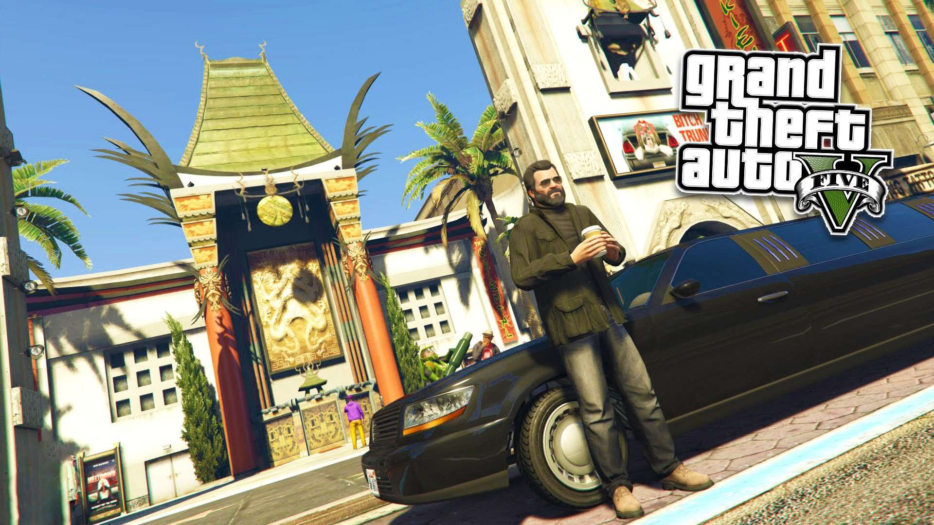 Wallpaper GTA 5 Wallpapers HD 1080p Upload at December 2 2015 by 1920x1080