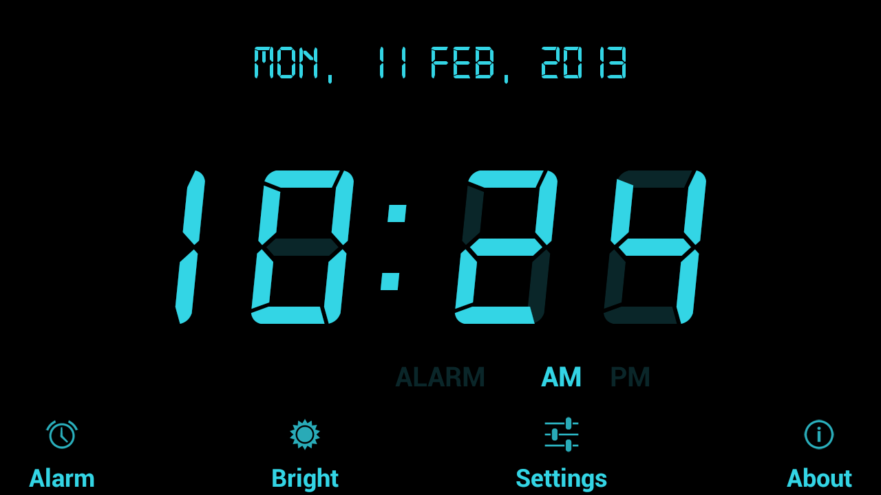 Digital Alarm Clock Android Apps on Google Play 1280x720