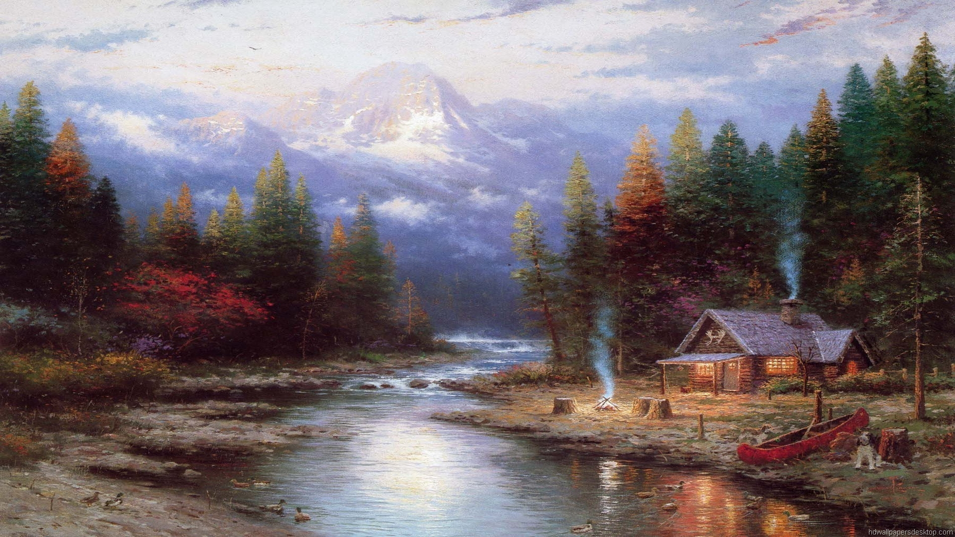 thomas kinkade wallpaper 1920x1080 - photo #11