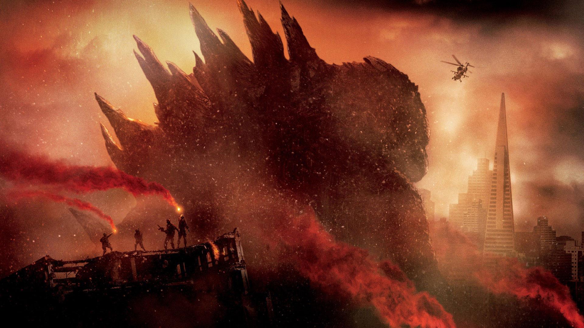 Godzilla Movie 2014 HD iPhone iPad Wallpapers 1920x1080