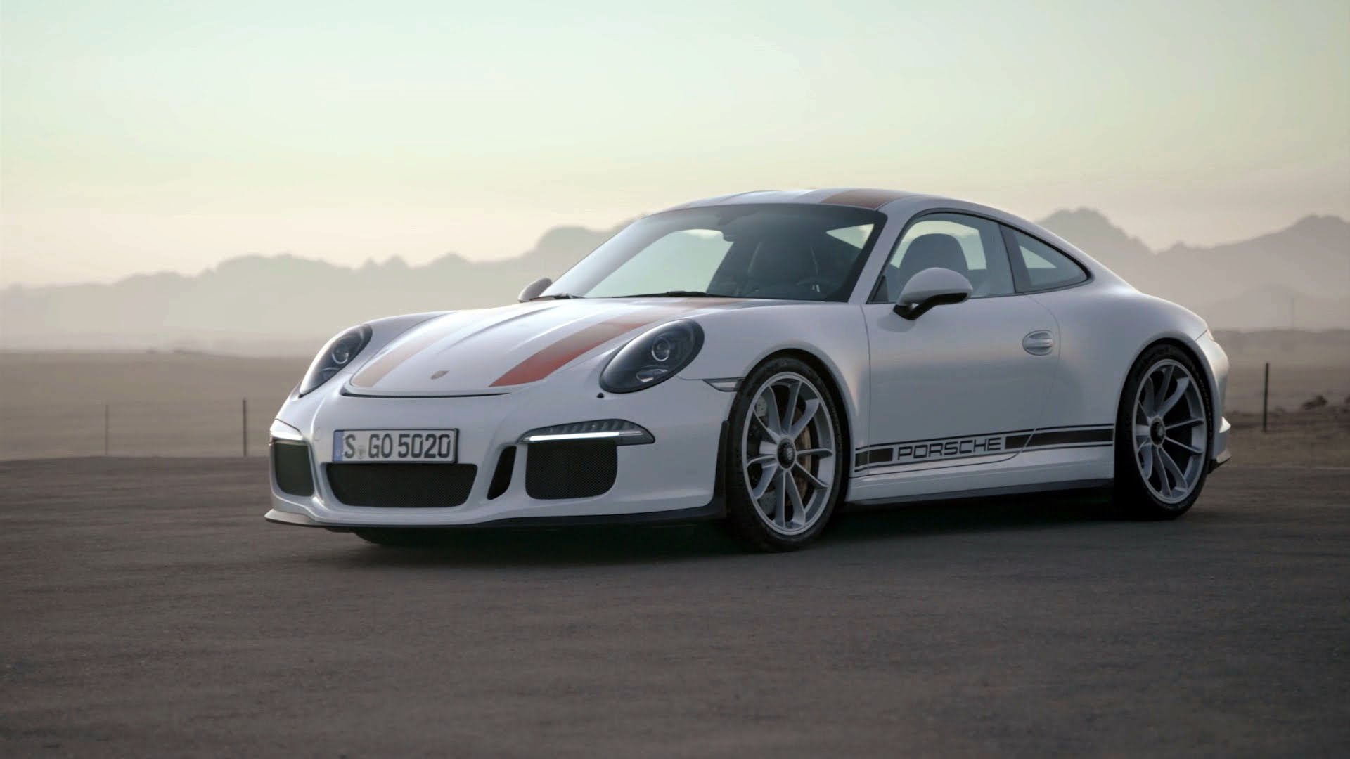 Porsche 911 R   Rennsport R Fahrung 1920x1080