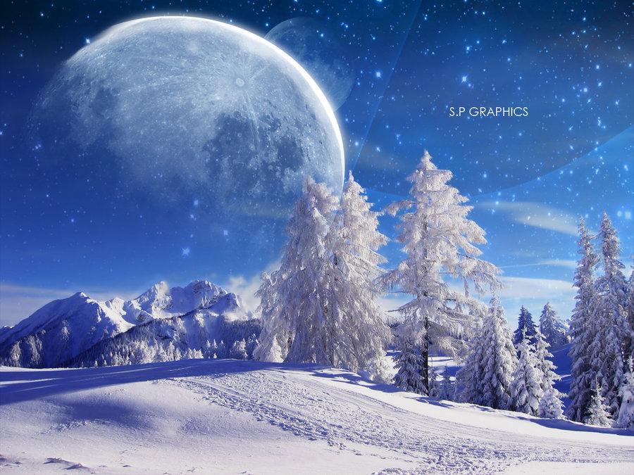 Winter Wallpaper by pikels2 on deviantART 900x675