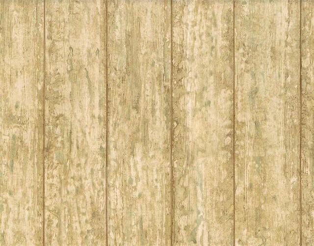 Faux Wood Wallpaper AFR7143 Roll   Farmhouse   Wallpaper   by 640x502