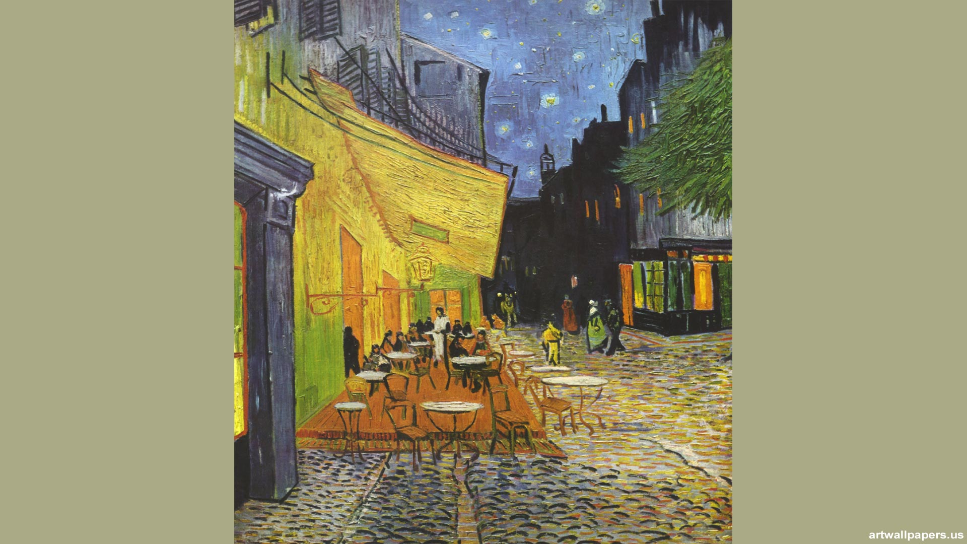 Vincent van Gogh Wallpaper Vincent van Gogh Starry Night Paintings 1920x1080