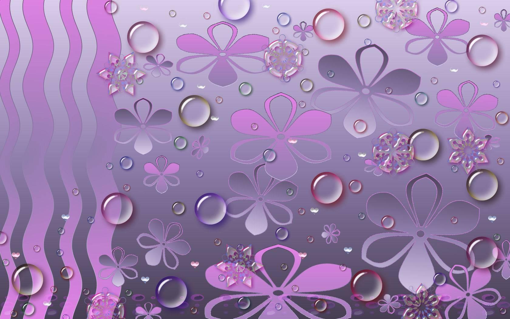 spookie purple wave wallpaper   pink and purple Wallpaper 1680x1050