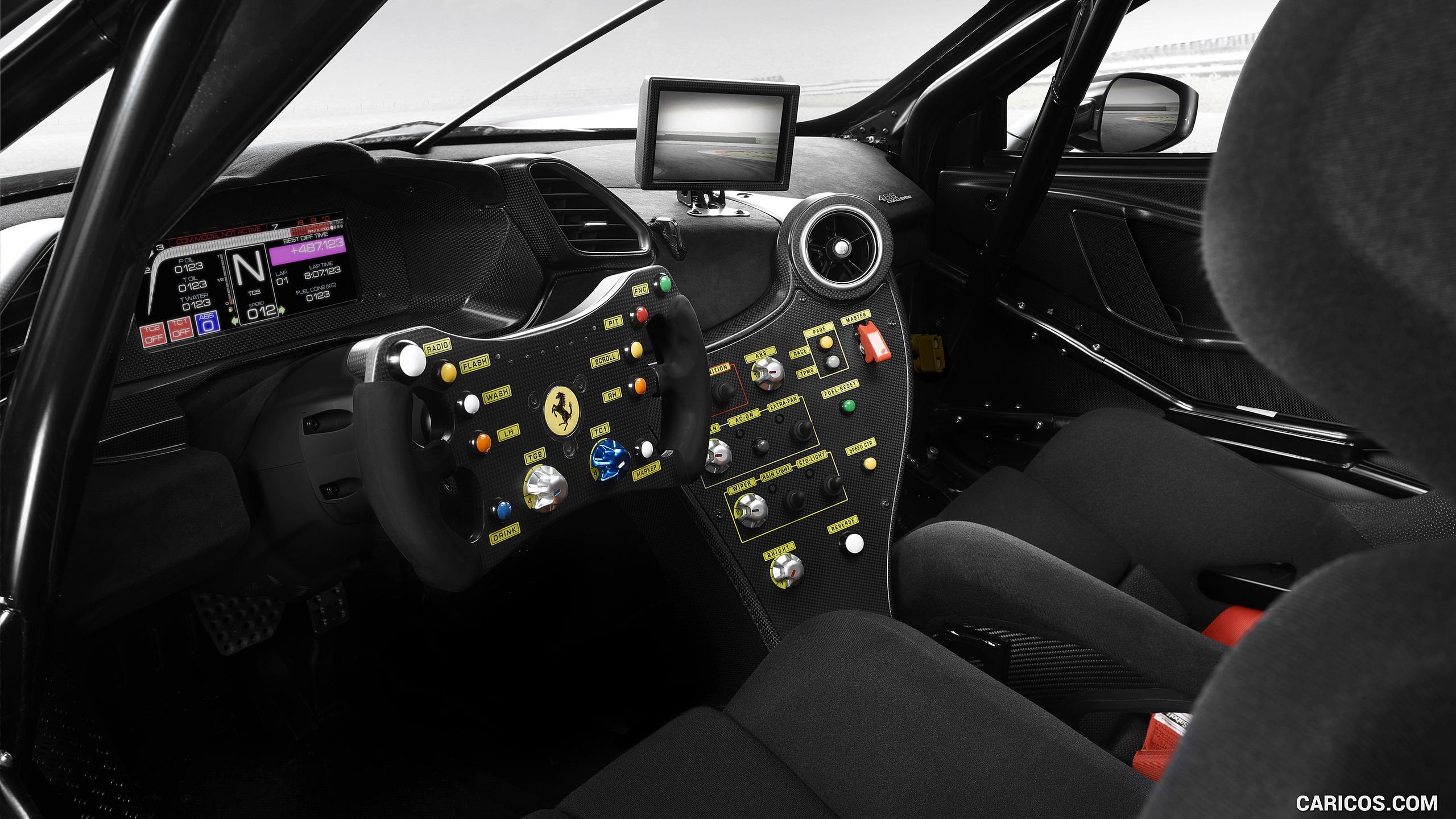2020 Ferrari 488 Challenge Evo   Interior HD Wallpaper 5 2560x1440