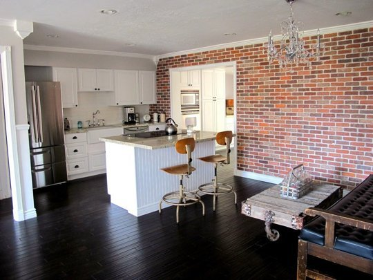 Ways to Get the Look of Exposed Brick at Home Apartment Therapy 540x405