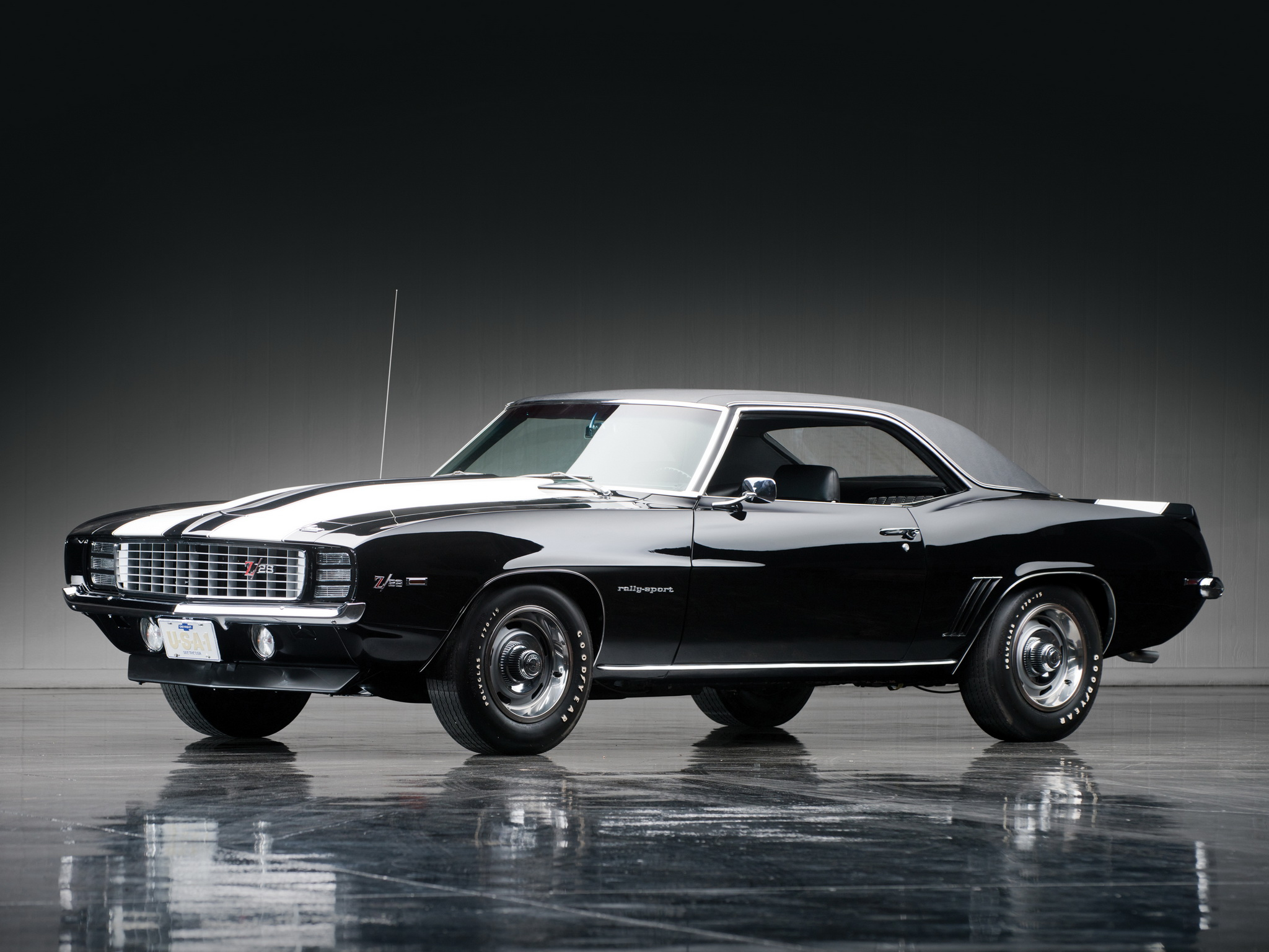 1969 Chevrolet Camaro Z28 R S classic muscle g wallpaper background 2048x1536
