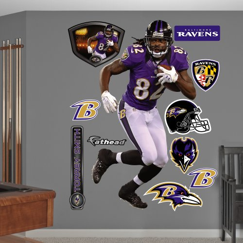 NFL Baltimore Ravens Torrey Smith Wall Graphics 500x500