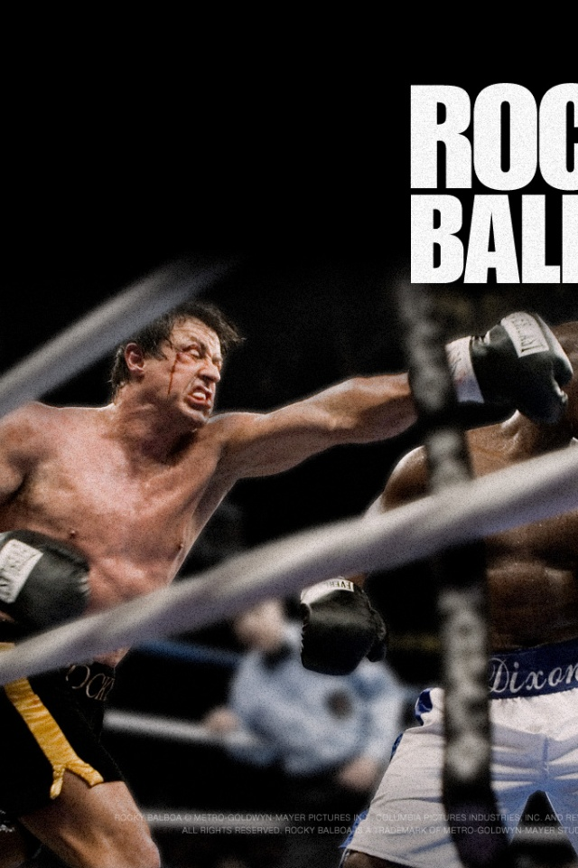 640x960 Rocky Balboa Iphone 4 wallpaper 640x960