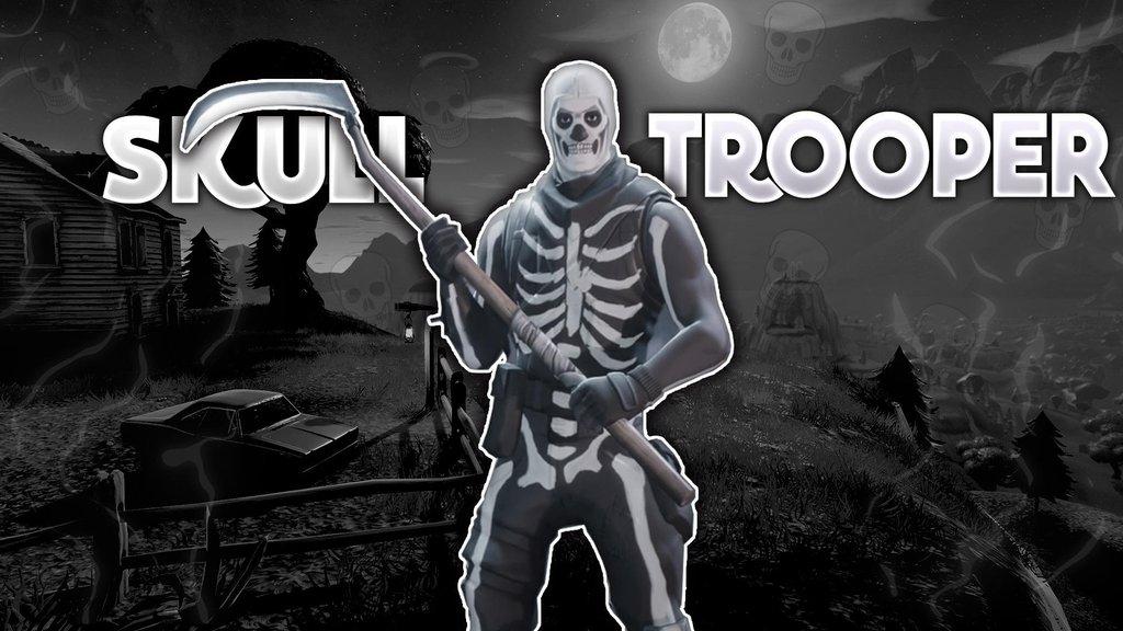 Skull Trooper Wallpaper 1920x1080 re FortNiteBR 1024x576