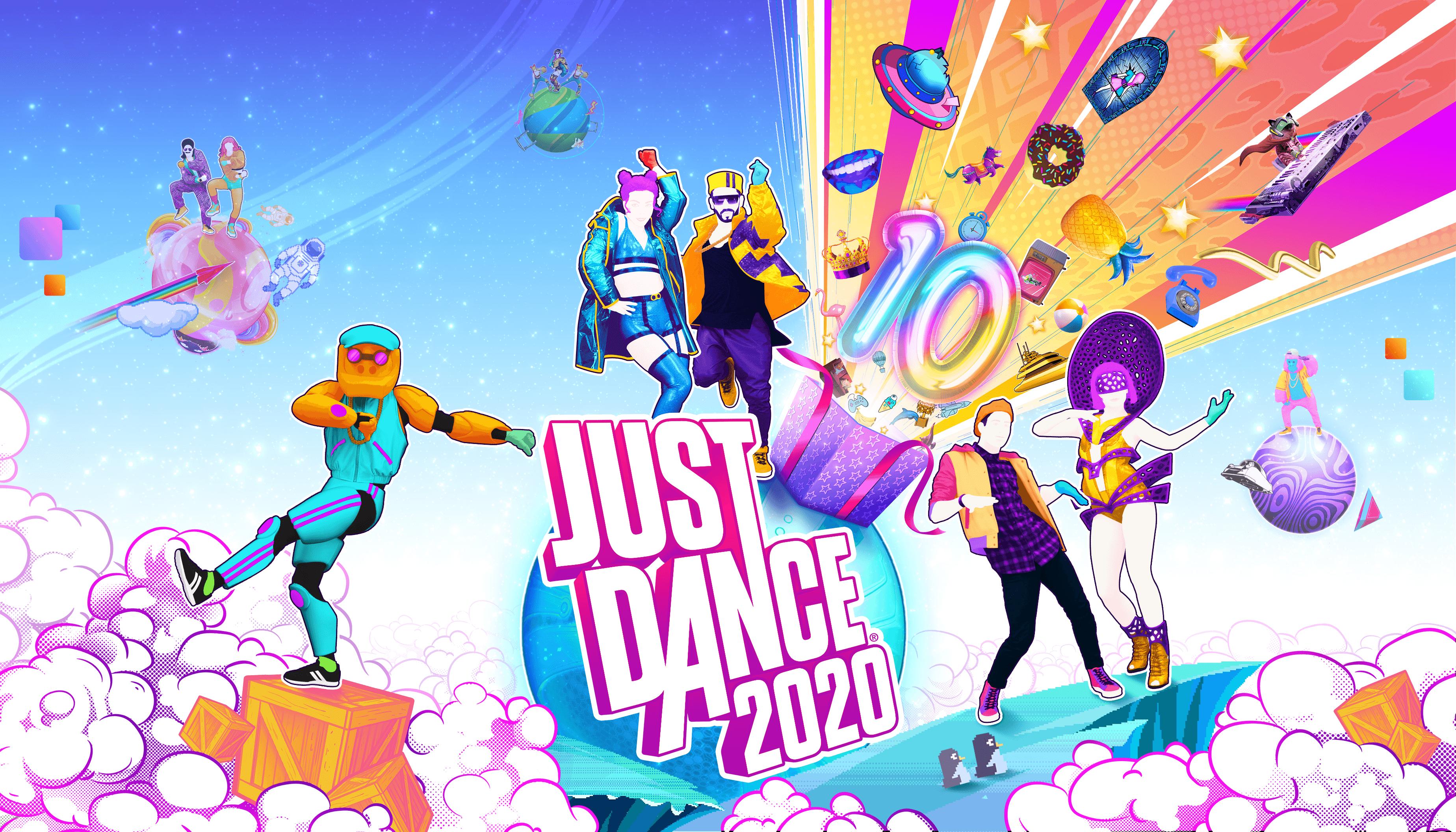 Just Dance 2020 Wallpapers 3696x2112