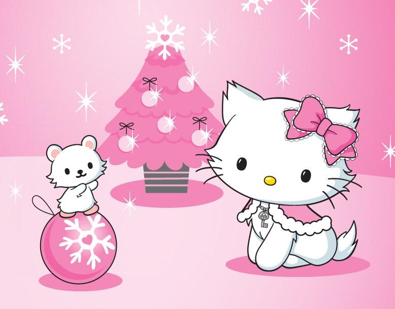 77+ Hello Kitty Christmas Background on WallpaperSafari
