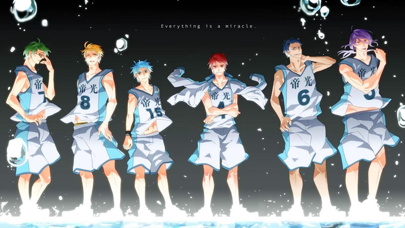 Kuroko Basketball Wallpaper - WallpaperSafari