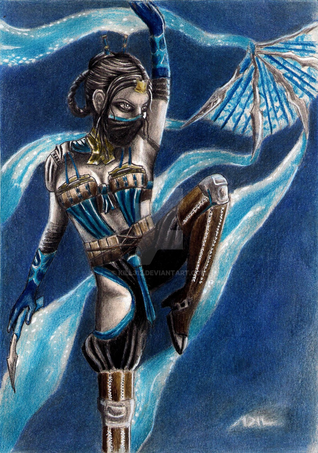 princess kitana by kill312 d8rx3yojpg 1024x1461