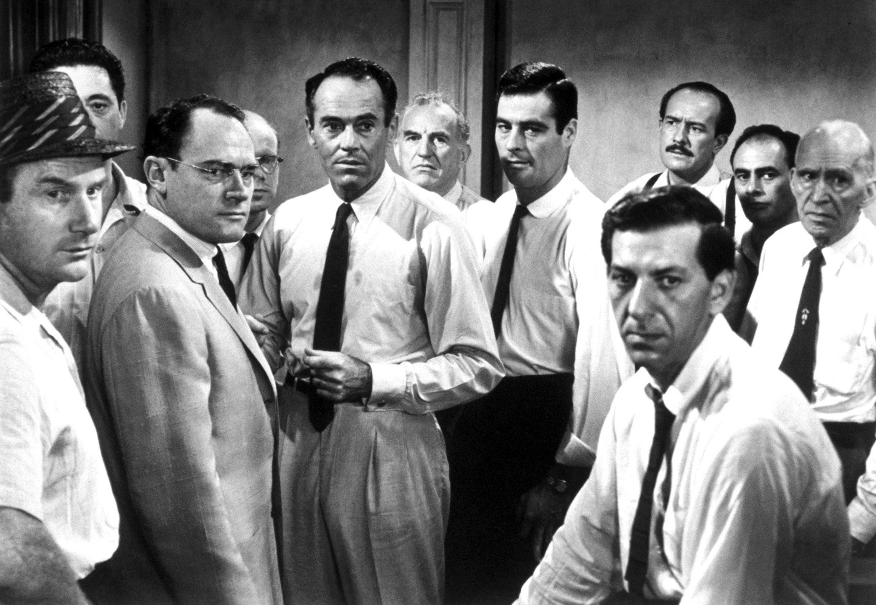 12 Angry Men Men Actors Black White Bw   Stock Photos Images 2800x1935