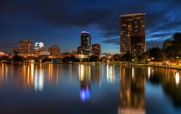 Night Orlando City click to view 620x390