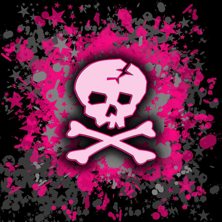 Pink Skull Wallpaper Wallpapersafari