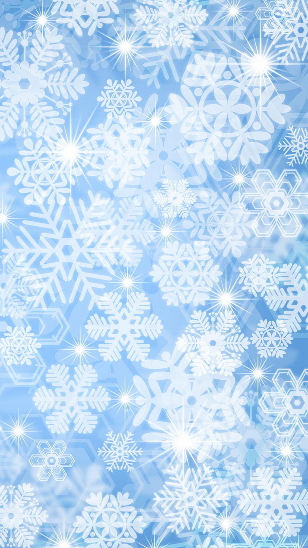 snowflake wallpaper iphone - photo #7