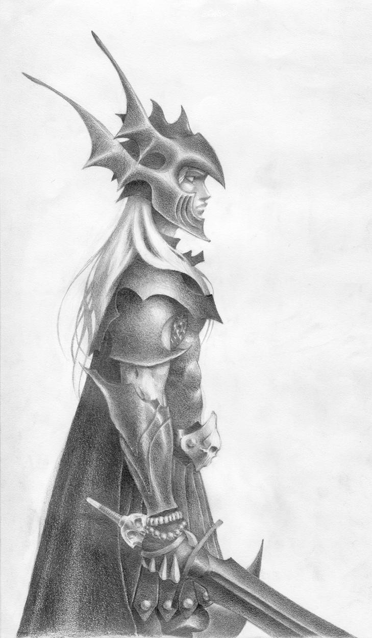 Elric Melnibone by JoshBurns 729x1249