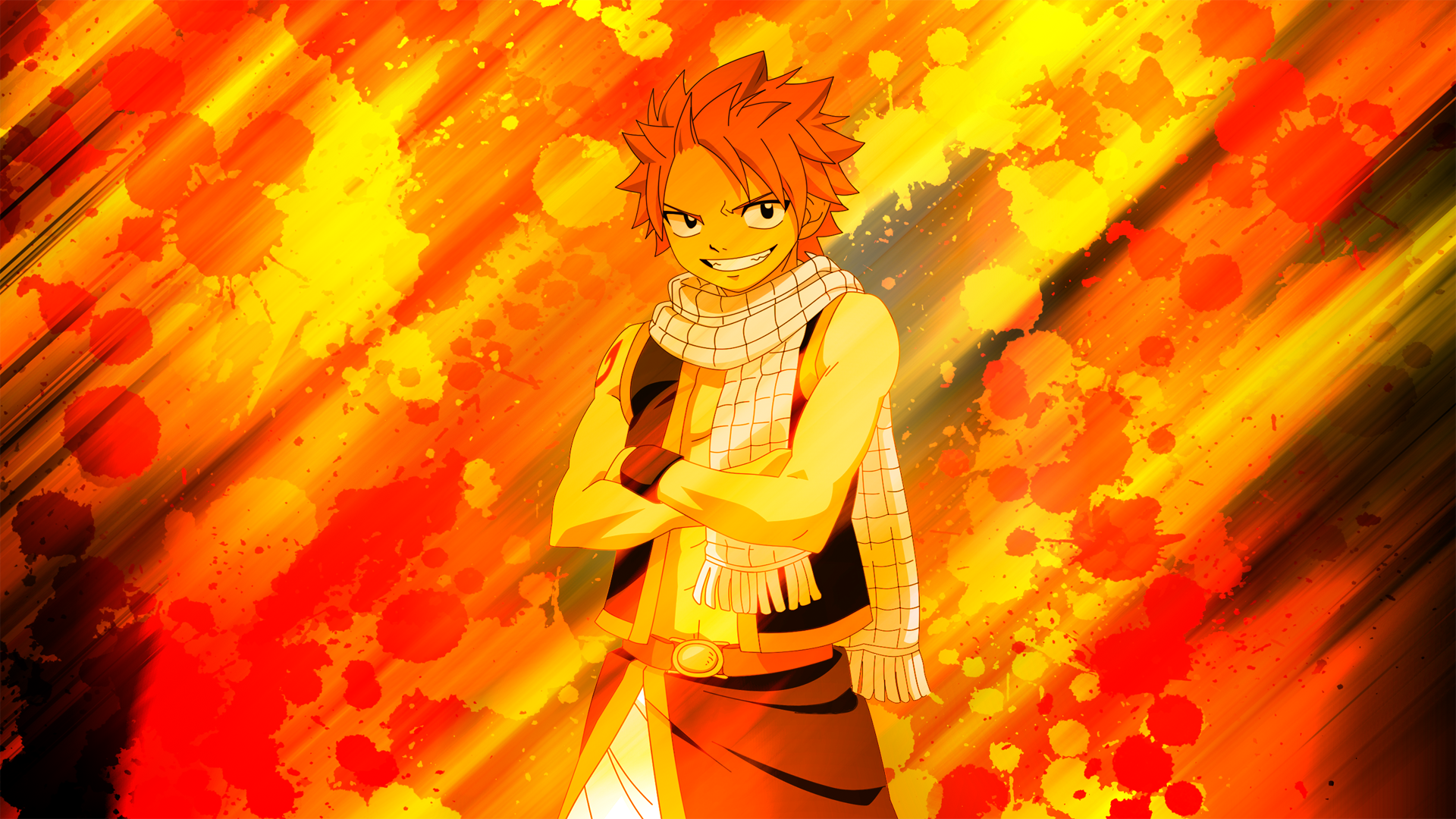Fairy Tail Natsu DragonSlayer Wallpaper 1080p By EnemyD On 1920x1080