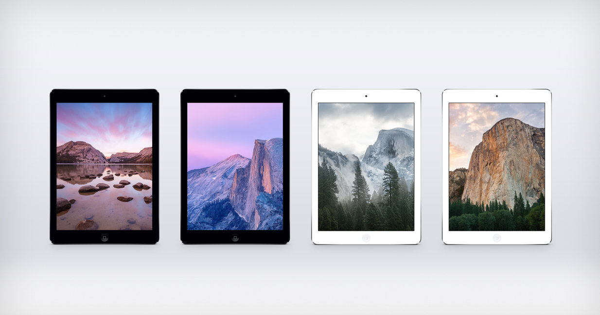 Download full OS X Yosemite Wallpaper Pack for iPad 219 MB 1234x648