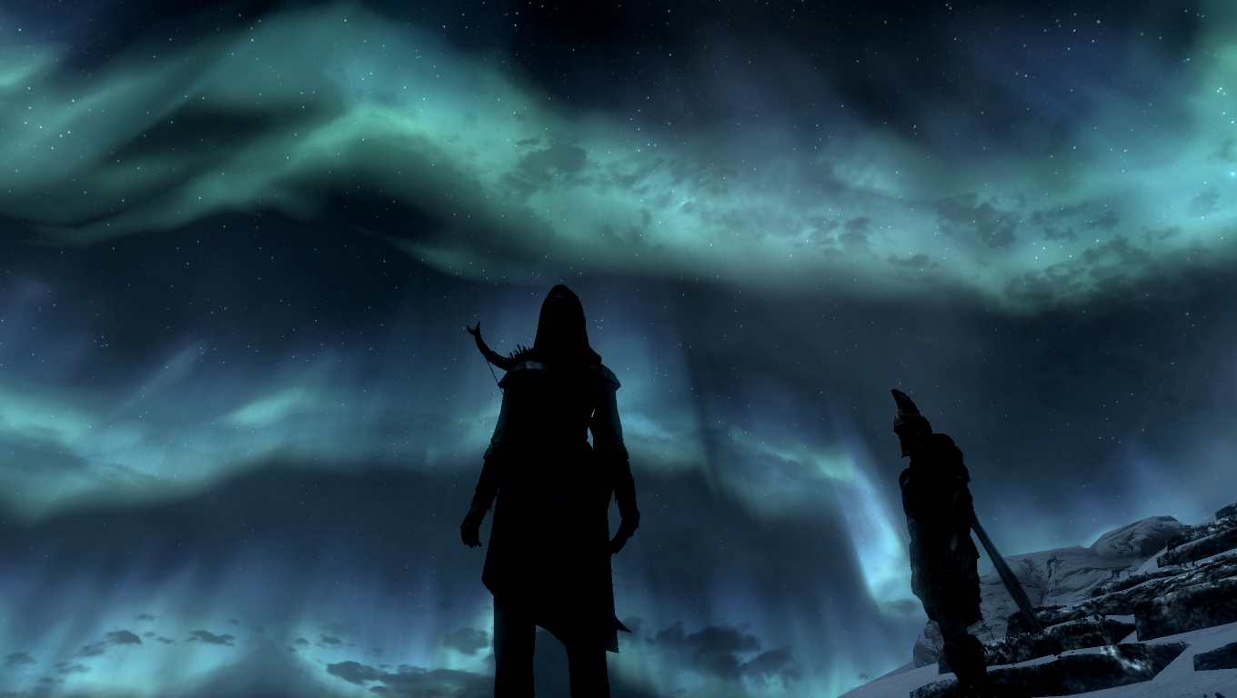 Skyrim Animated Wallpaper Wallpapersafari