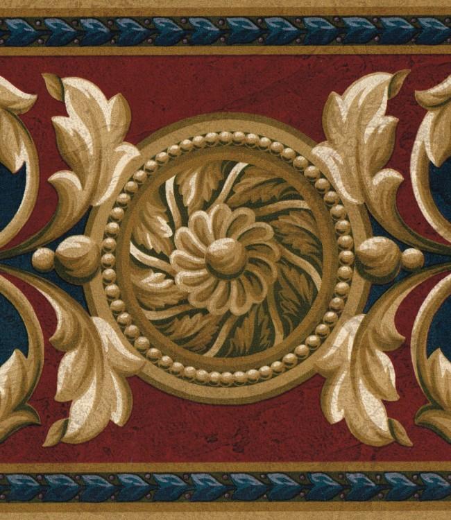 Victorian Wallpaper Pattern 650x750