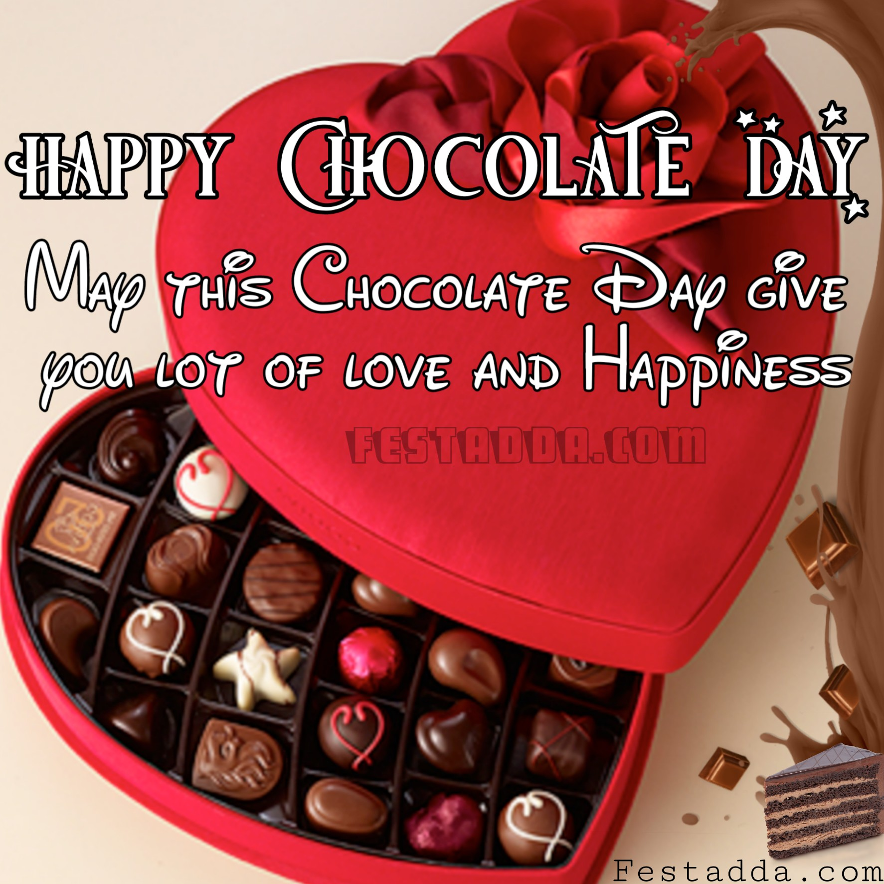 Happy Chocolate Day 2019 Images   Chocolate Day Images Download 1773x1773