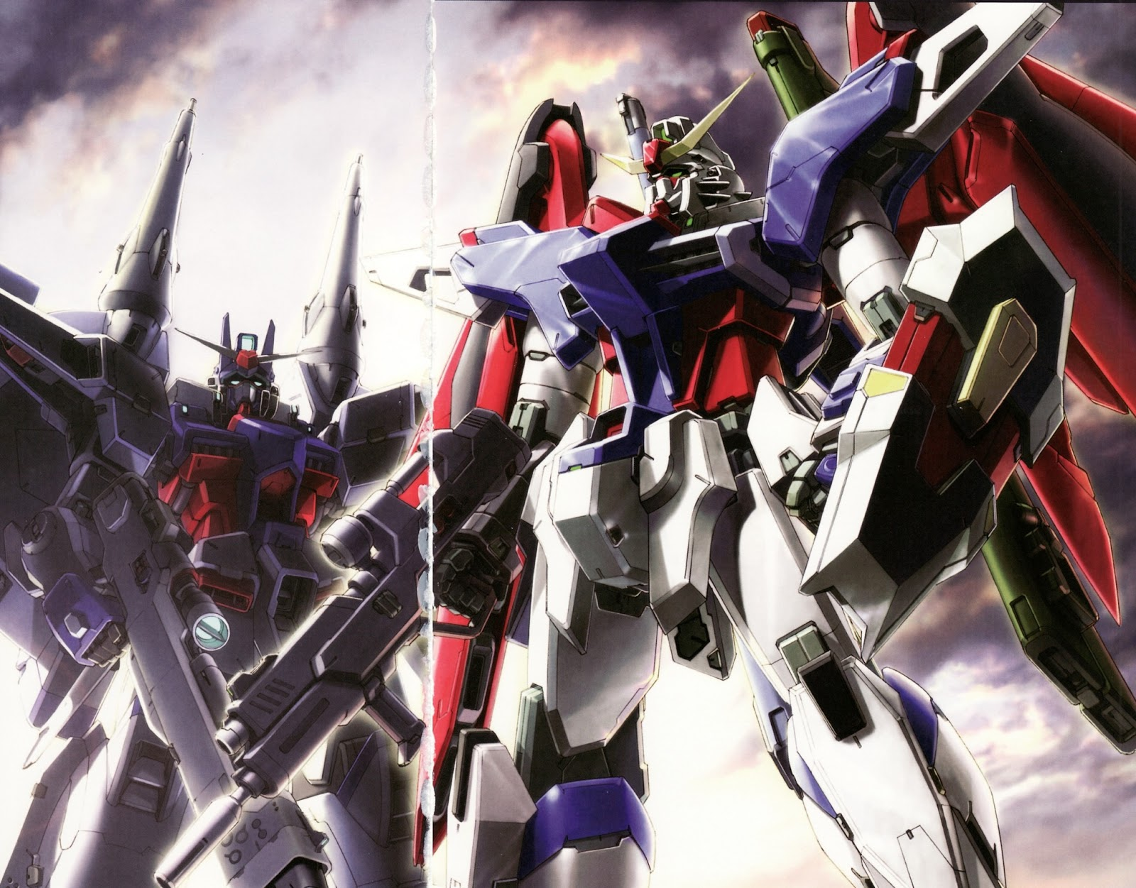 Gundam SEED Destiny Wallpapers   Gundam Kits Collection News and 1600x1251