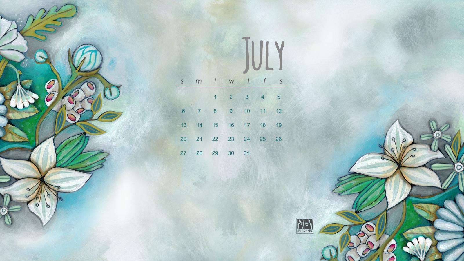 Click here to enjoy this months desktop calendar 1600x900