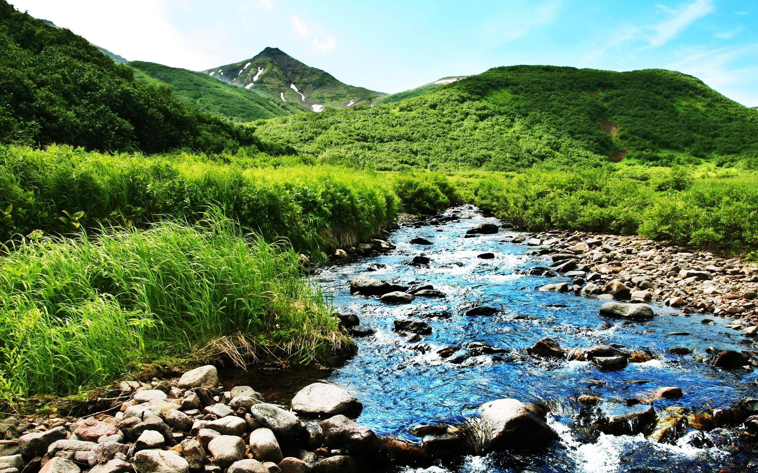 HD Mountain Stream Wallpaper - WallpaperSafari