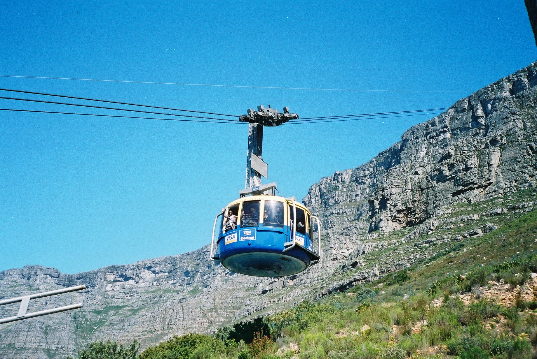 Table Mountain Cable Car Computer Wallpapers Desktop Backgrounds 1840x1232