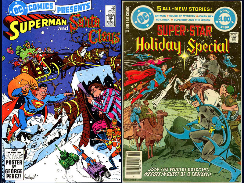 Holiday Comic Covers 800x600