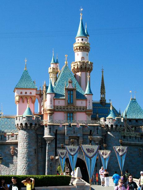 Walt Disney Sleeping Beauty Castle Wallpaper 461x615
