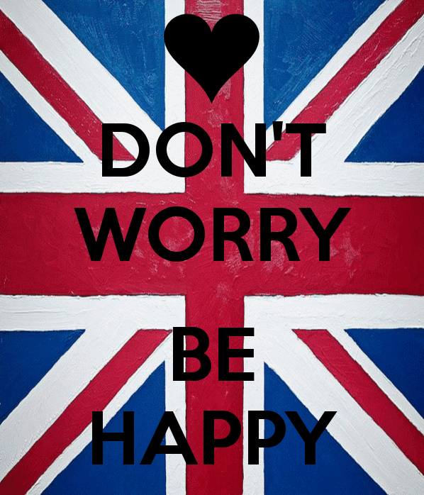 DONT WORRY BE HAPPY   KEEP CALM AND CARRY ON Image Generator 598x698