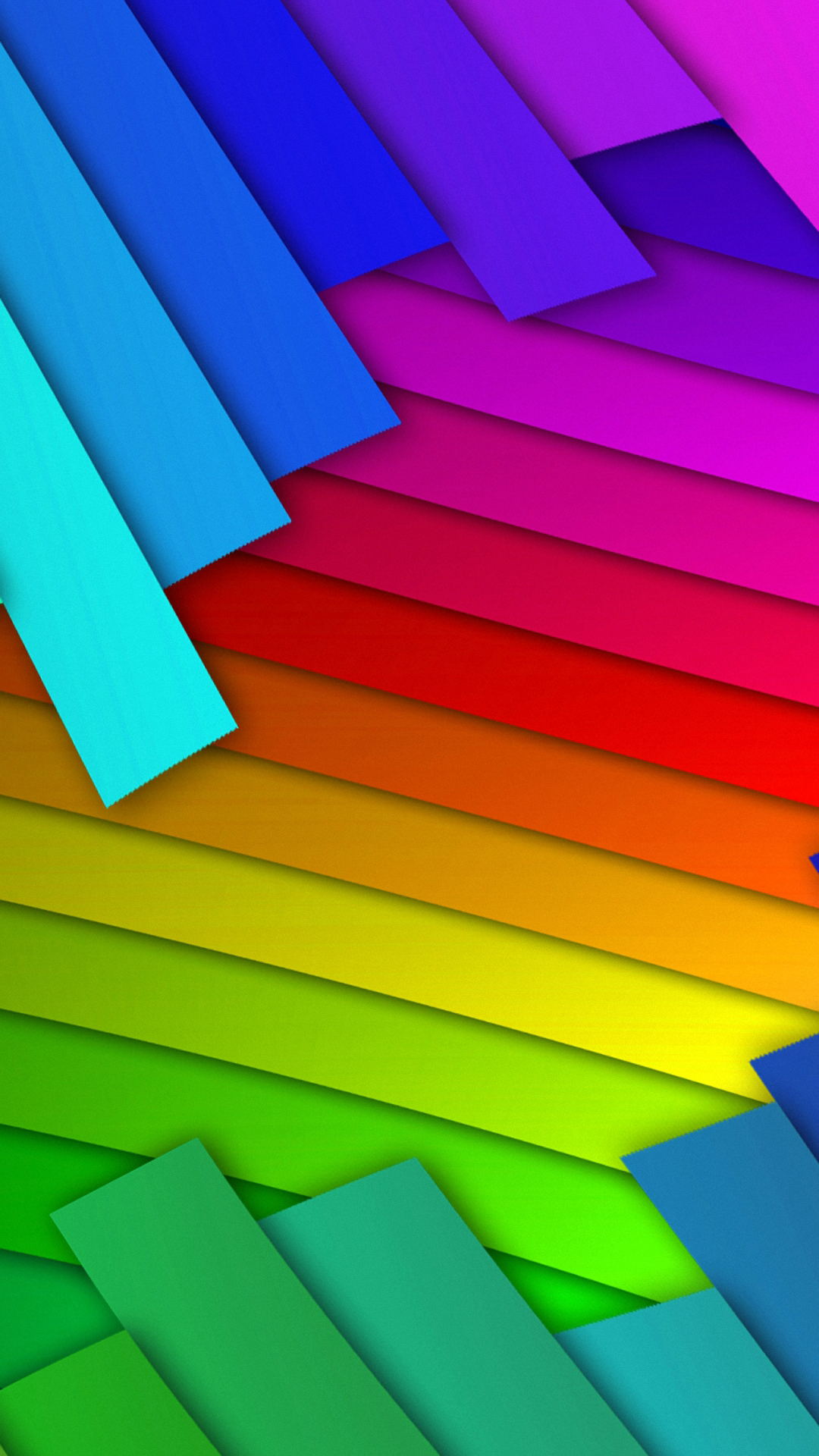 Samsung HTC Colorful Stripes Rainbow Android Wallpaper 1080x1920