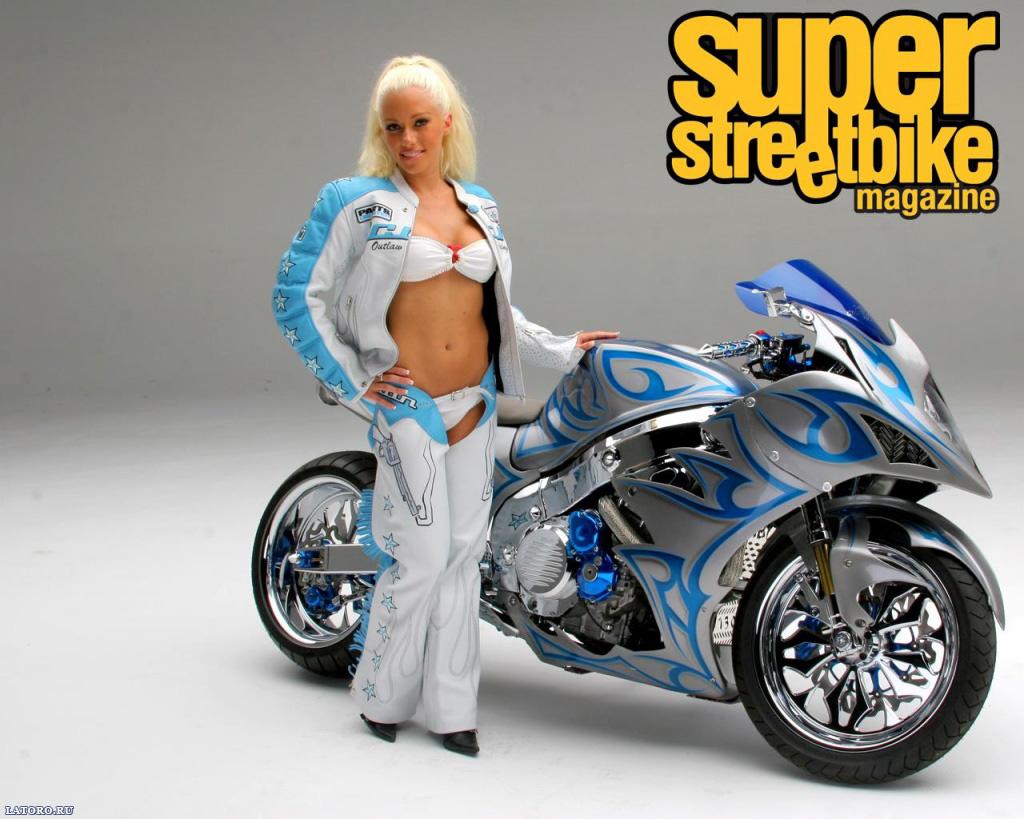Bike and Hot girls sport