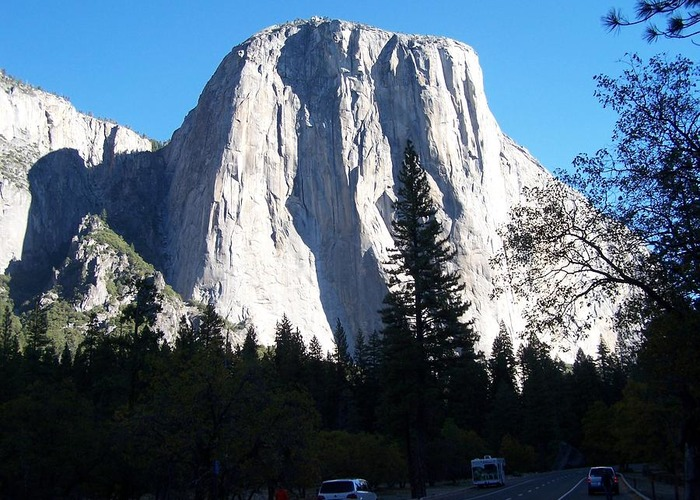 El Capitan Greeting Card featuring the photograph El Capitan Yosemite 700x500