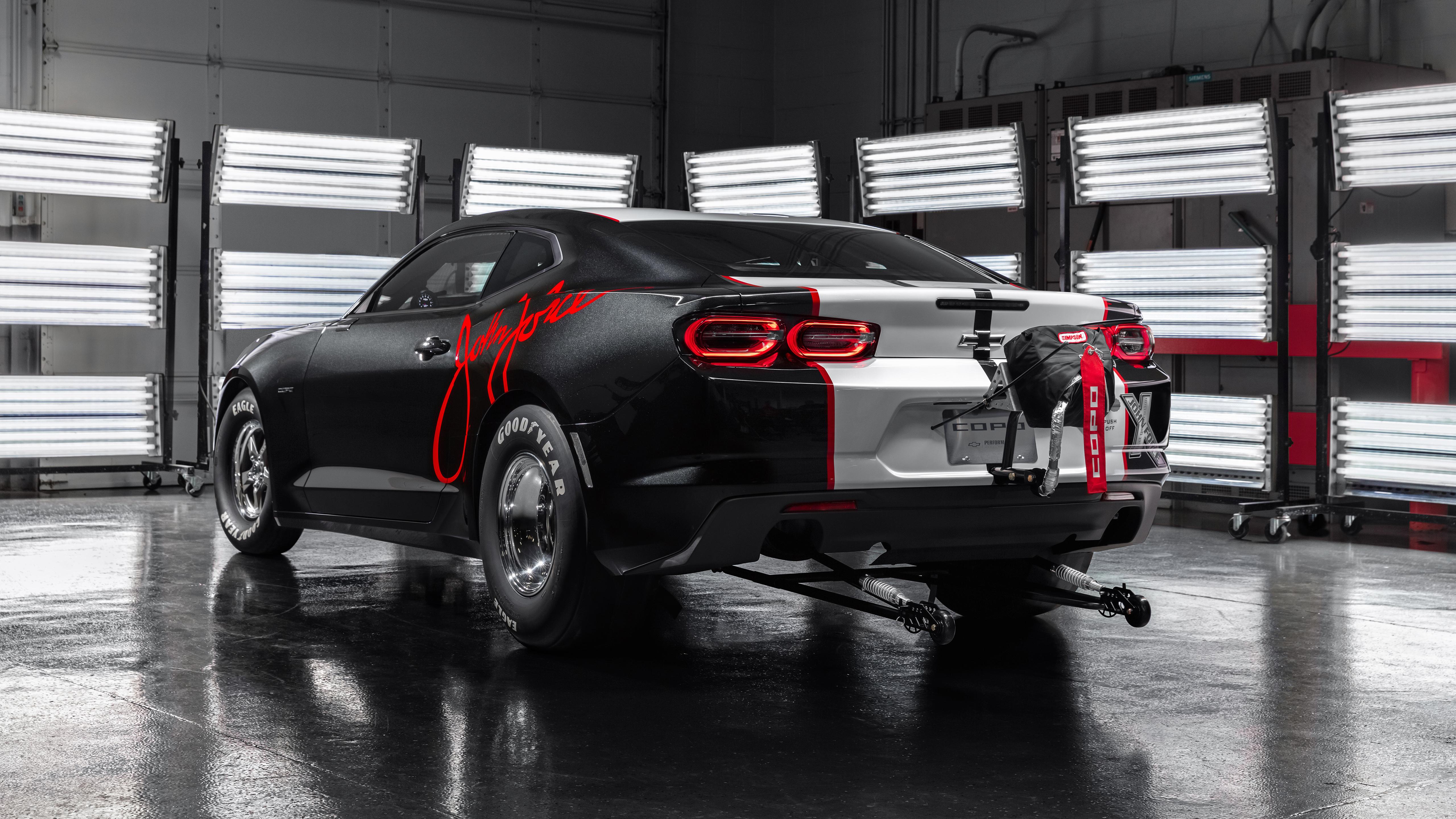 2020 Chevrolet COPO Camaro John Force Edition 4K 3 Wallpaper HD 5120x2880
