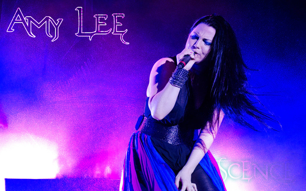 Amy Lee Of Evanescence by colongaston 1024x640
