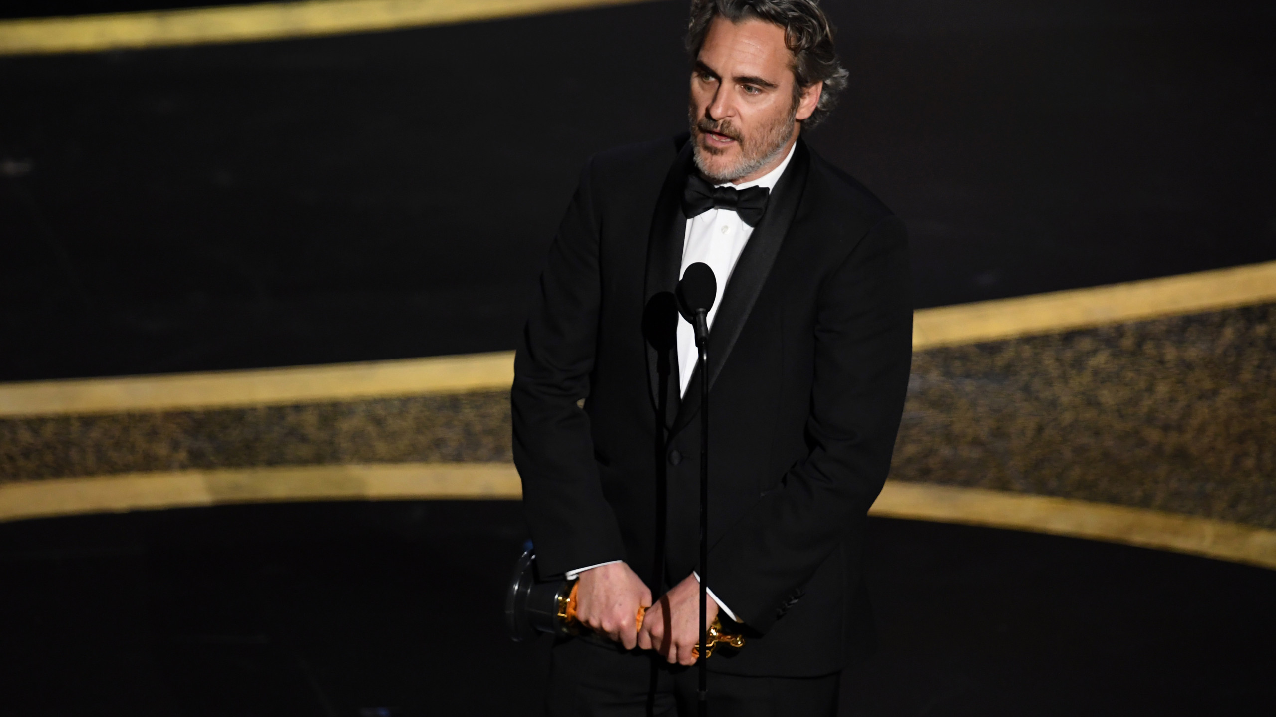 Joaquin Phoenix wins Best Actor Oscar for Joker 2560x1440