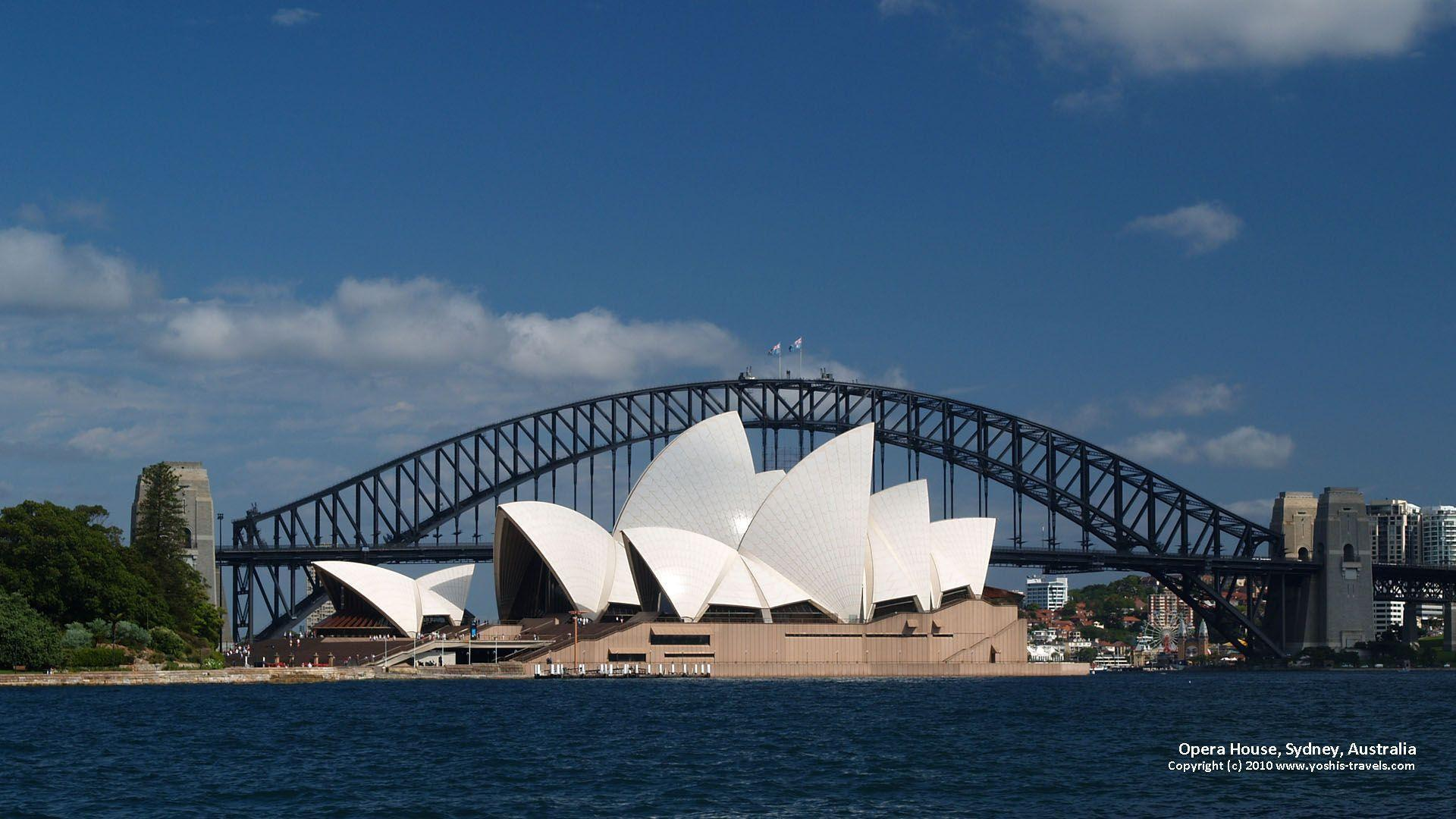 Opera House Wallpapers 1920x1080