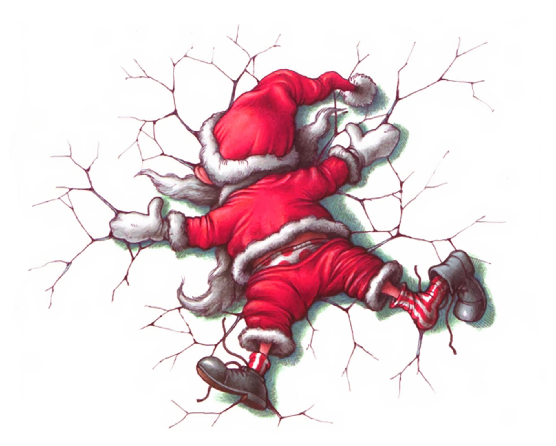 Funny Christmas Cartoon Wallpaper for Desktop   Wallpapers Mela 1920x1541