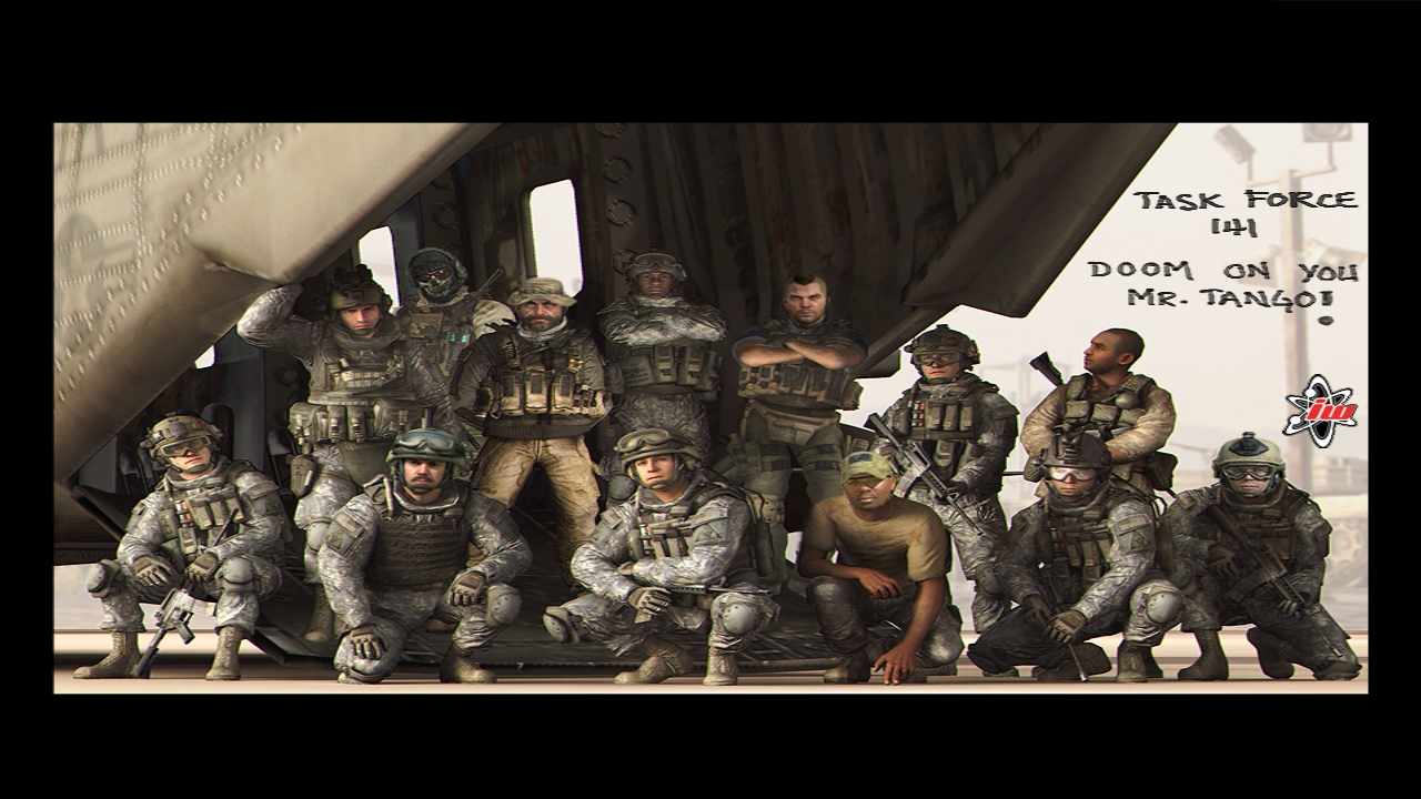Call of Duty MW2 by Zajakiel 1280x720