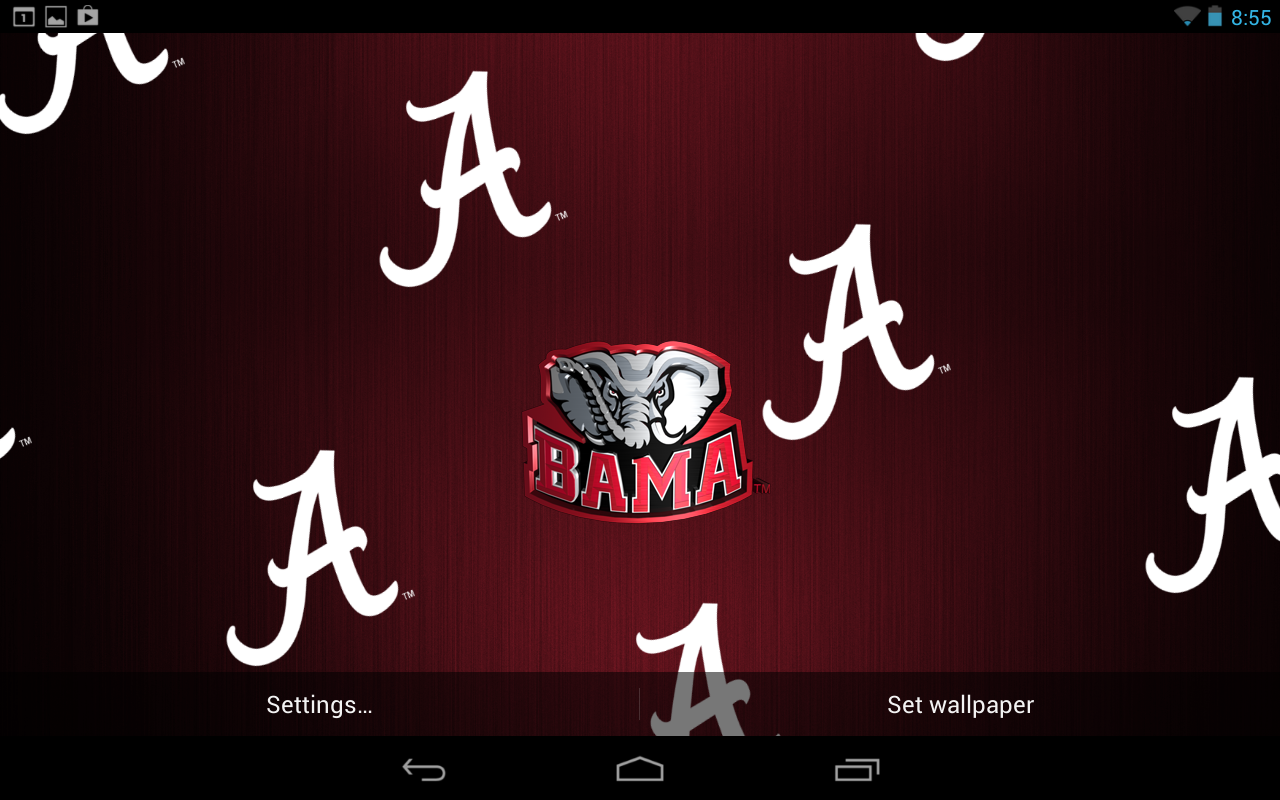 Free download alabama live wallpaper hd android apps on google play 1280x800 for your desktop - Free alabama crimson tide wallpaper for android ...