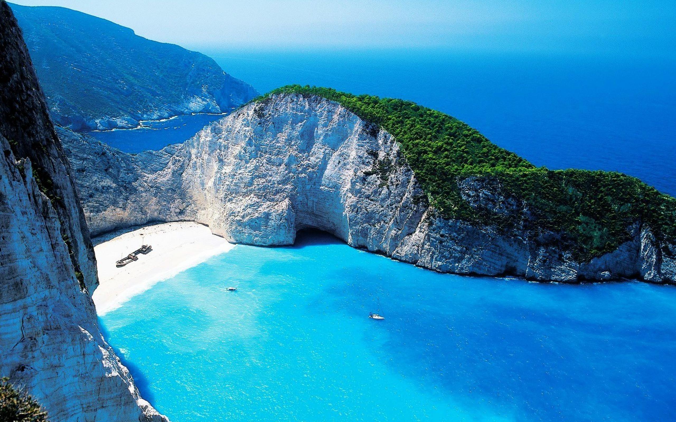 Hd wallpaper landscape - Greece Natural Landscape Hd Wallpaper 2560x1600 Wallpaper Download