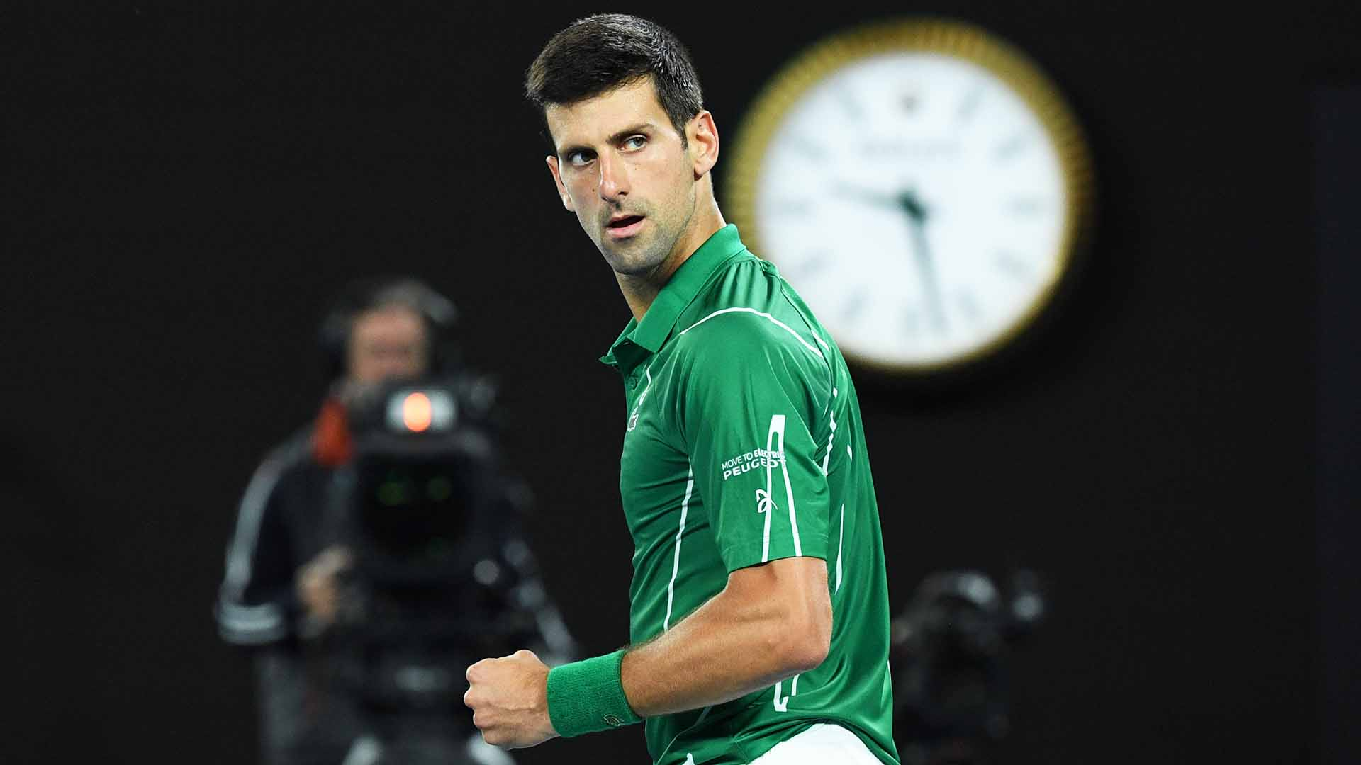 Novak Djokovic Ready For Big Effort Against Roger Federer ATP 1920x1080